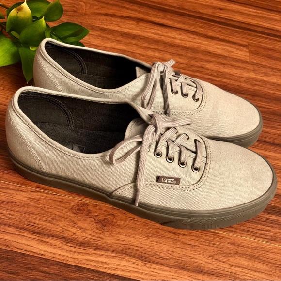 c607c50364 Men s Vans authentic trainers in light gray. M 5a74b2515512fd99c2a4617d